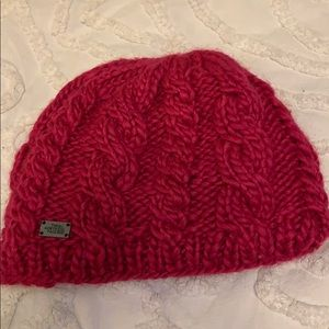 Pink North Face Hat